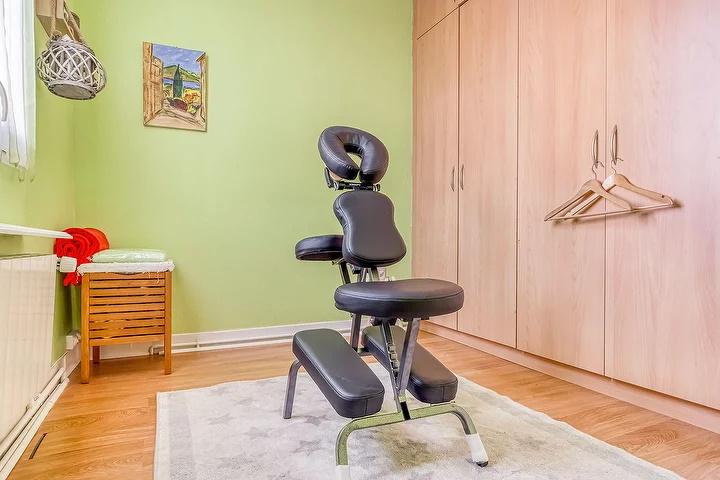 Siège ergonomique massage assis